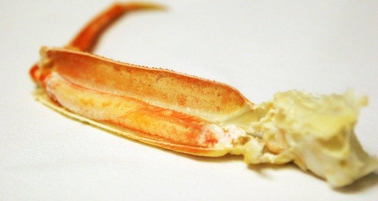 Armazene o caranguejo em temperaturas baixas