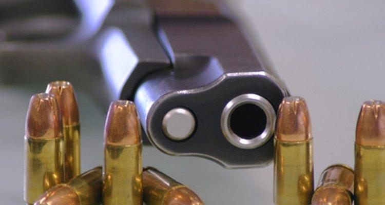 Las balas de punta hueca son un tipo común de munición de 9mm.