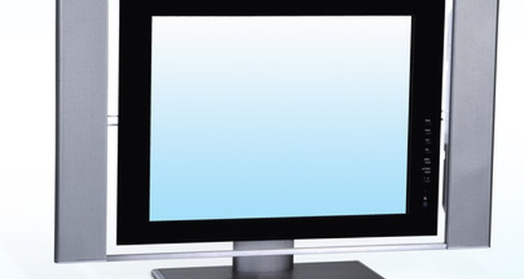 An LCD is lightweight but not lightweight enough to be placed on top of a DVD player.
