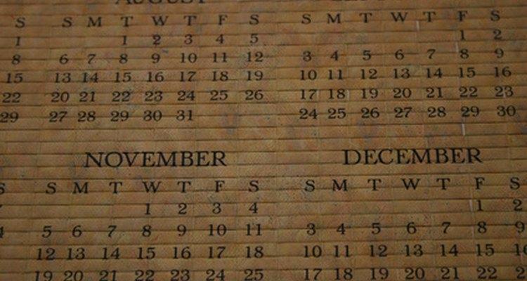 Fique atento a feriados e outros eventos já marcados