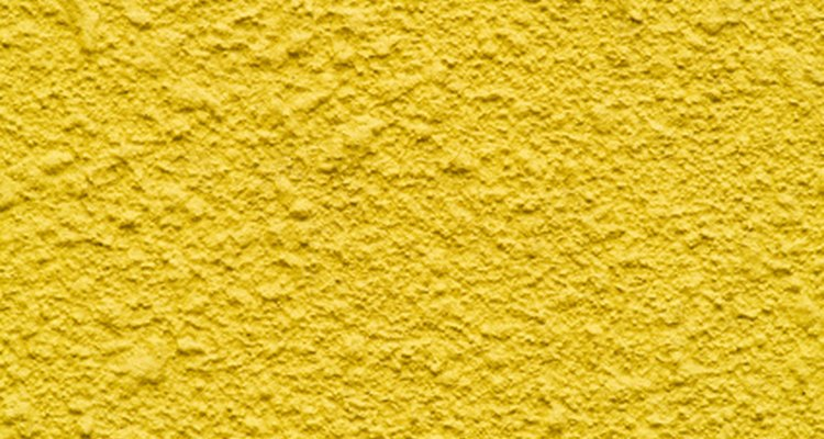 Popcorn texture creates a rocklike effect.