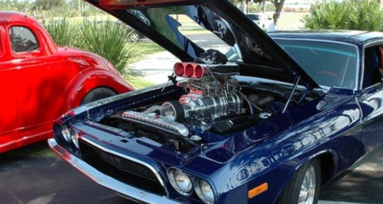 Painting aluminium engine parts requires specialised preparation.