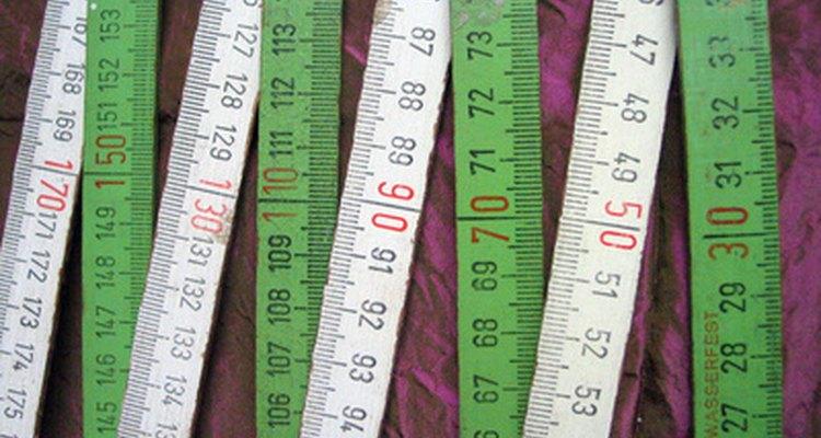 O sistema métrico é usado em várias partes do mundo