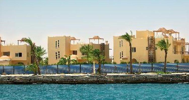 Casas de playa lujosas.