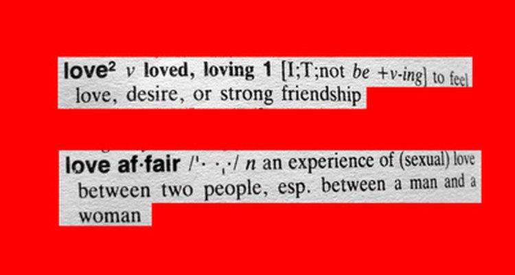 No confundas amor con infatuación.