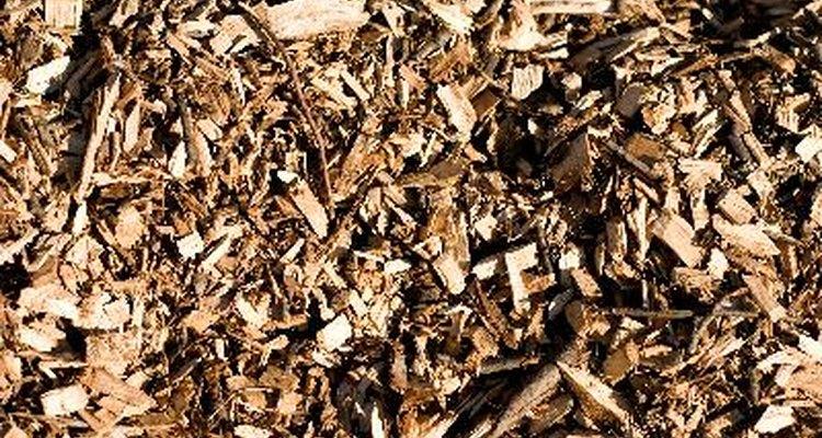 Las astillas de madera son decorativas y útiles al mismo tiempo.