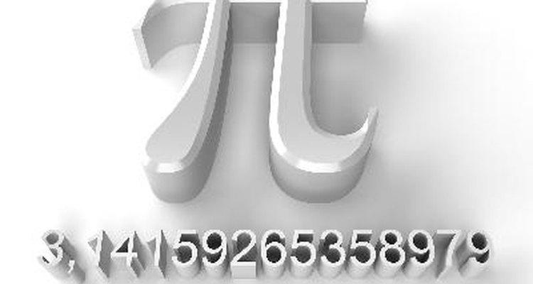 O pi é fundamental para esse cálculo.