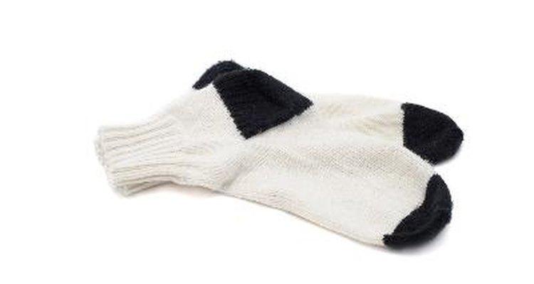 Limpia tus calcetines blancos