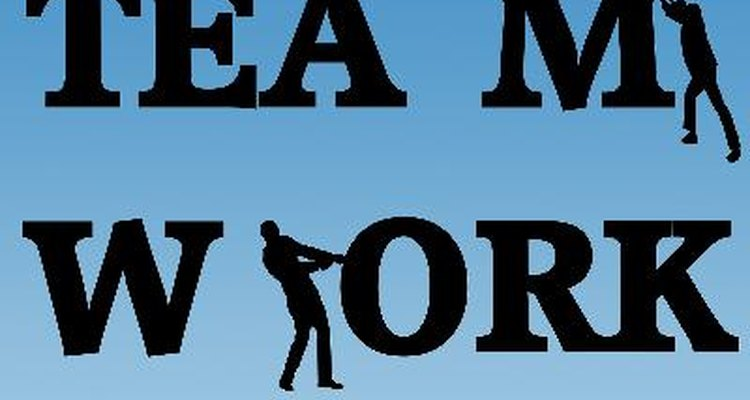 Actualmente, muchas empresas fomentan el trabajo en equipo.