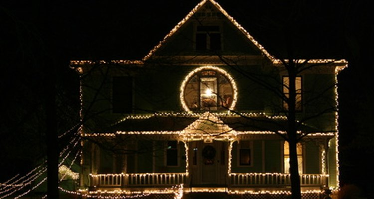 Outdoor lights are often bigger and brighter than indoor lights.