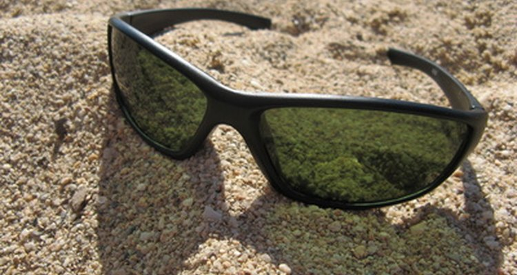 Sunglasses can cause unsightly tan lines.