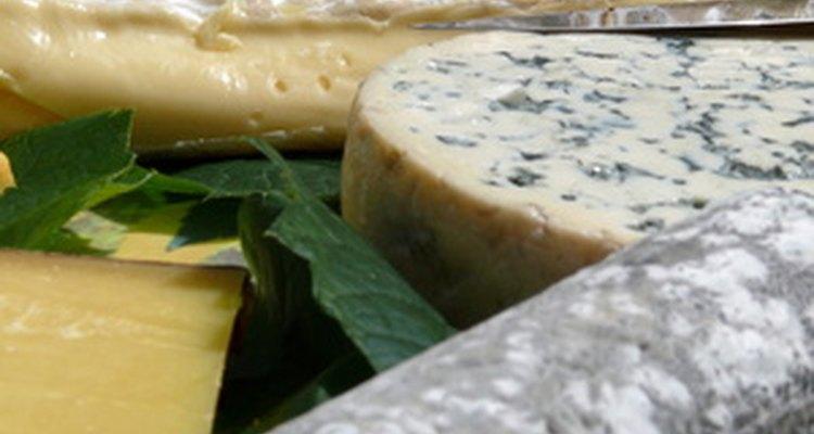 Los quesos añejos son una delizadeza en algunos países.