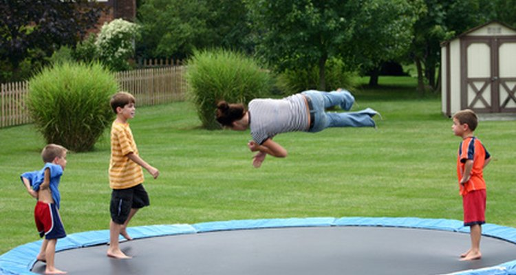 Keep the spring in your trampoline.