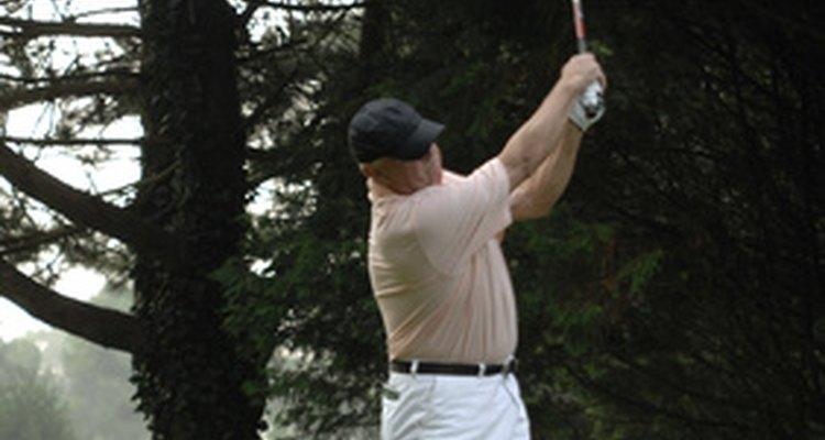 La jubilación significa tener tiempo para trabajar en ese golpe de golf.