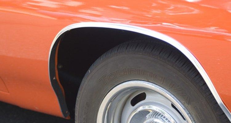 Many car wheels are made from cast aluminium.