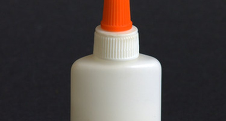 PVA glue is easy to work with.