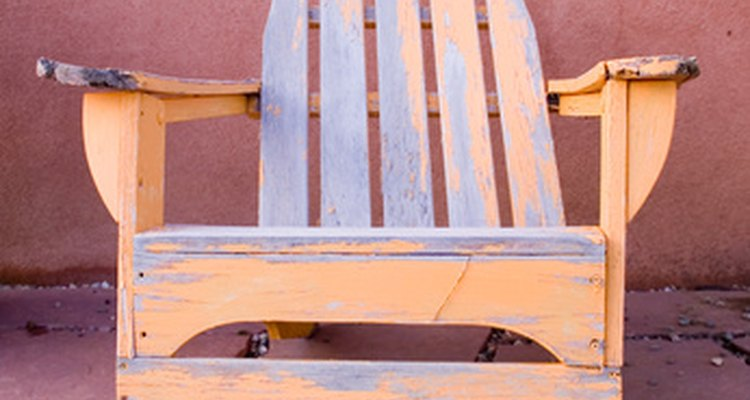 Las sillas Adirondack se originaron en el norte de Nueva York.