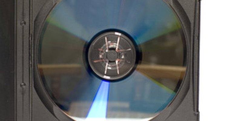 DVD disc inside a case.