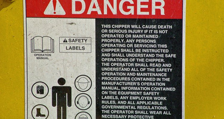 A site agent must ensure safety standards are adhered to.