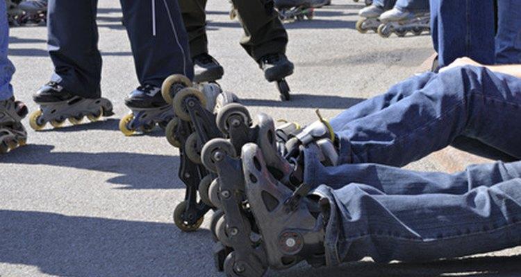 Os patins para crianças podem ser ajustados baseado no tamanho do pé