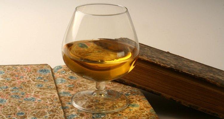 Brandy is made through distillation