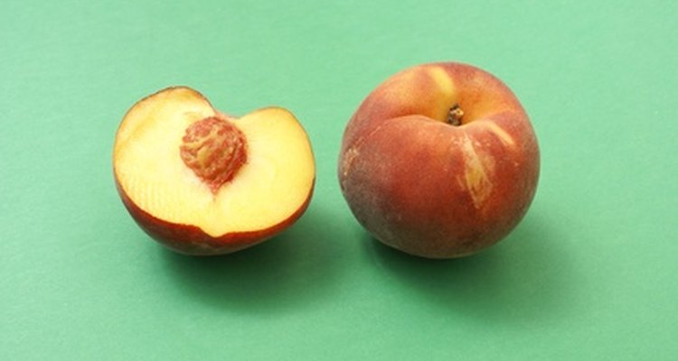 Colours like white, sea green and blue all go nicely with peach.