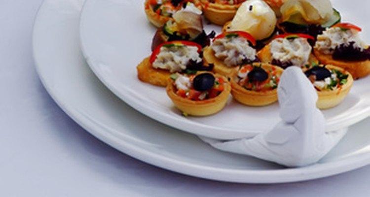 Um chefe de cozinha deve ser capaz de criar pratos para o menu do restaurante