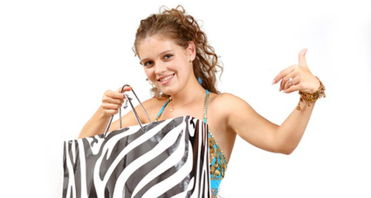 Send the teenage party guests on a scavenger hunt at the mall.