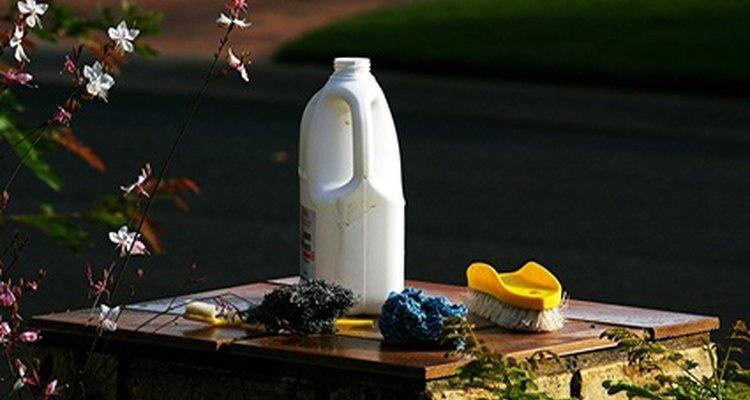O alvejante é um produto comum de casa