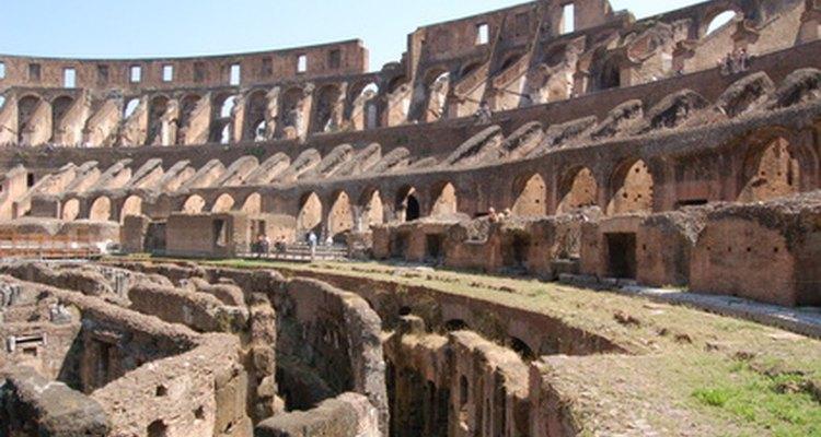 Los instrumentos romanos de agrimensura fueron usados para construir estructuras complejas.