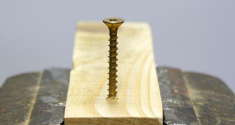 Screws will split dry, narrow or thin boards.