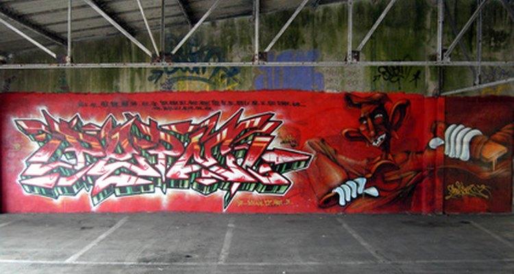 Há vários jeitos de escolher nomes para grafite