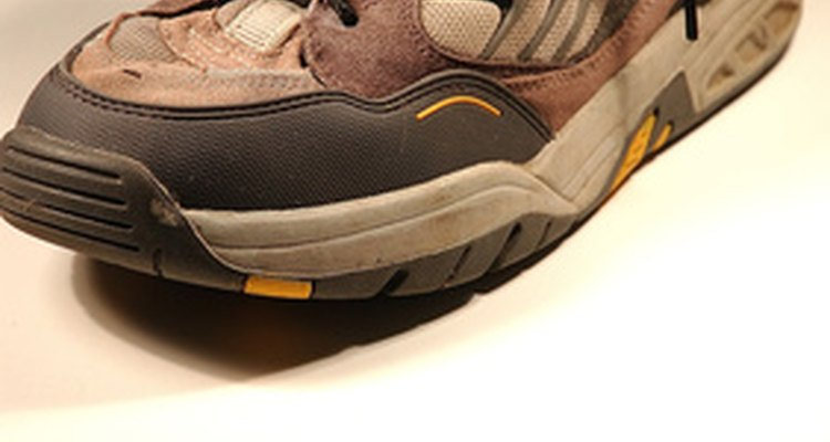 Shoelaces are traditionally completely visible.