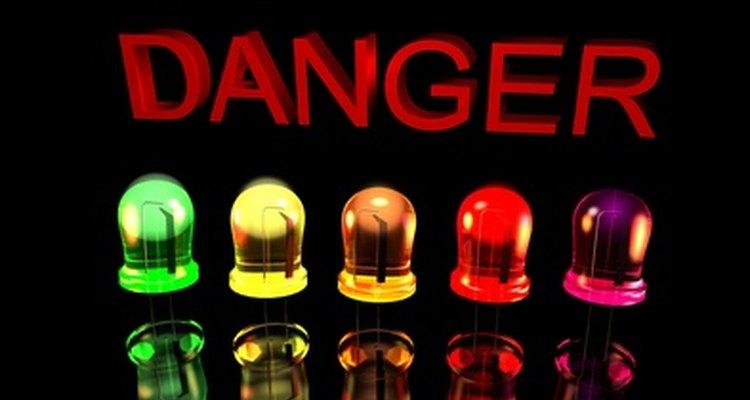 Las luces LED no emiten luz UV.