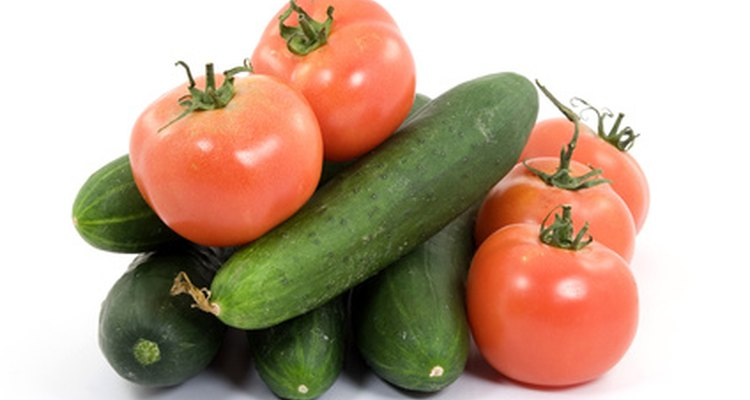 Vegetables can be grown in hydroponic gardens.