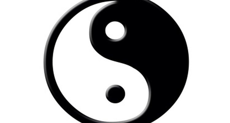 El símbolo Yin Yang provee amplias oportunidades para una interpretación creativa.