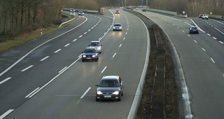 El grado de una curva ayuda a trazar las autopistas.
