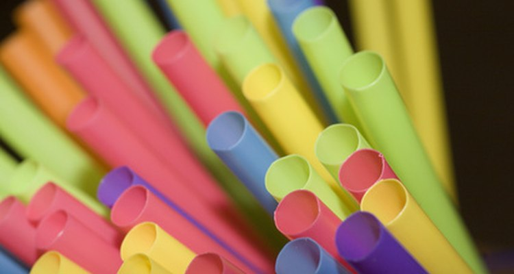Rubber tubing comes in various colours and widths