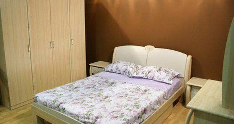 As cômodas geralmente acompanham uma suíte