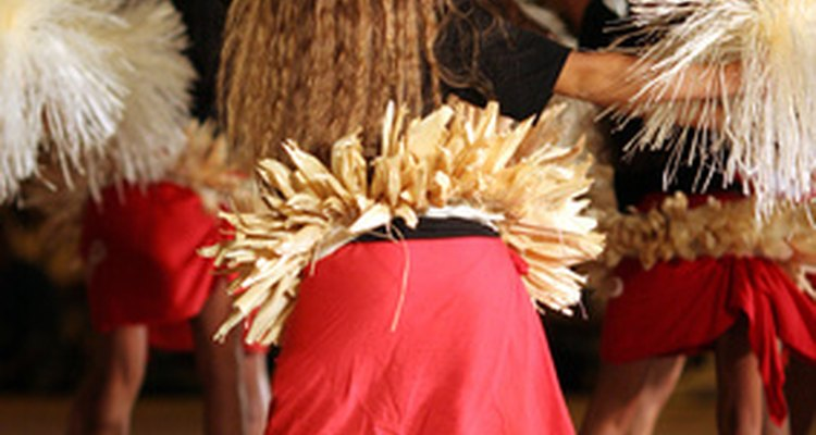 Danza tahitiana.
