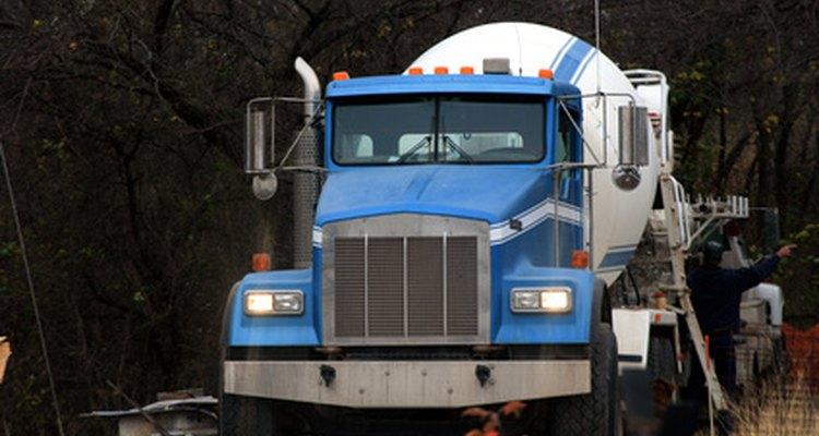 Cement trucks need high-torque, low-speed engines.