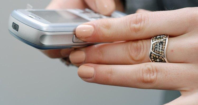 Los mensajes de texto son un tipo de comunicación escrita.