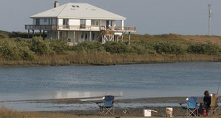 Las casas de playa vienen en diferentes formas y tamaños.