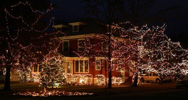 Nada ilumina más en la Navidad que una casa bien decorada.