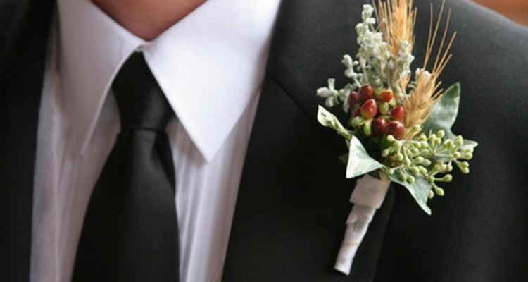 A tie is a common element for men in formal dress.
