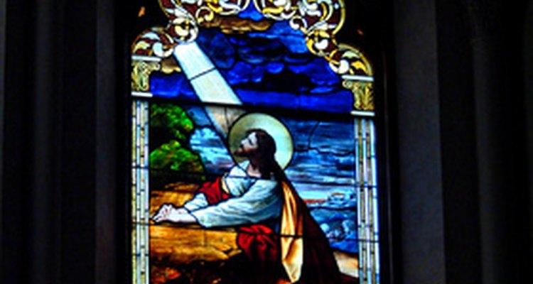Jesus orou no Jardim do Getsêmani