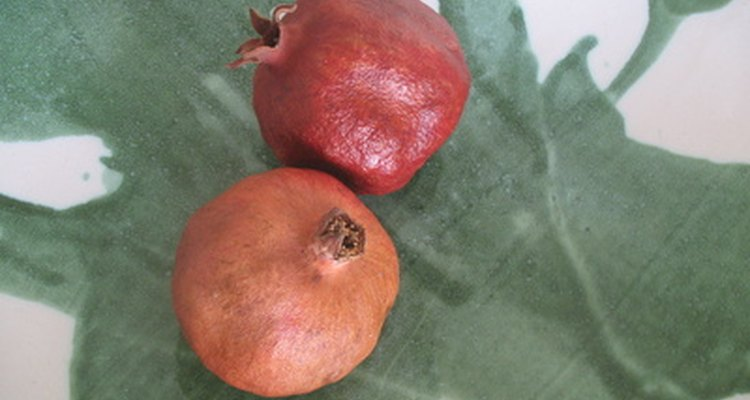 Pomegranates dry easily in a food dehydrator, whether whole or in seed form.