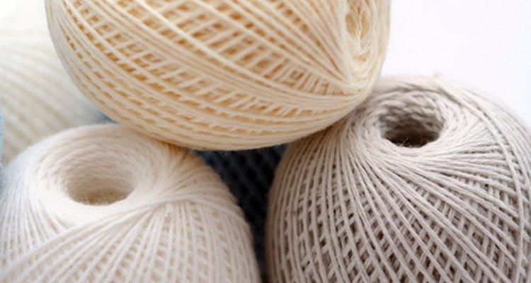 A lã recupera a brancura original