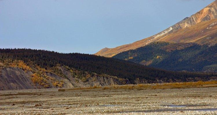 Vista común de la tundra ártica.