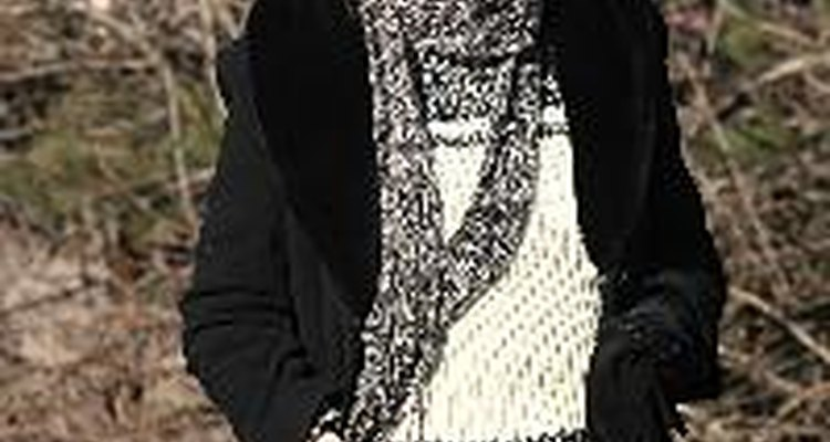Wool coats, sweaters and scarves are chosen for wool's insulating properties.